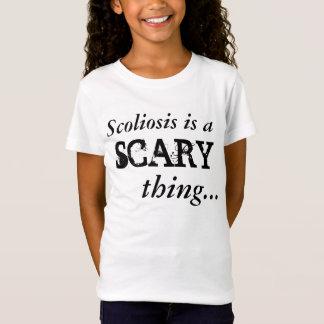 """La """"scoliose est"""" T-shirt effrayant"""