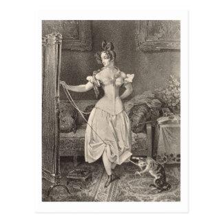 La Séjour-dentelle, gravée par Alfred Léon Carte Postale