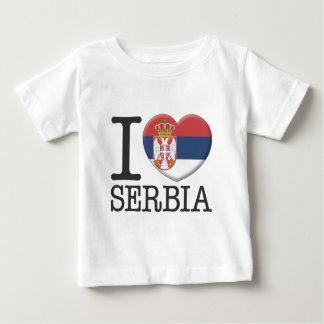 La Serbie T-shirt Pour Bébé