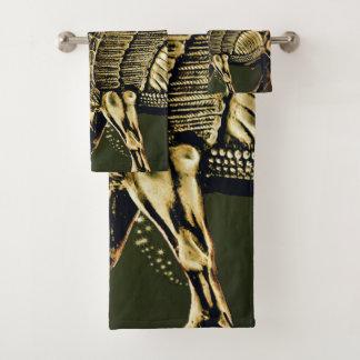 La serviette de Lamassu d'Assyrien a placé 5