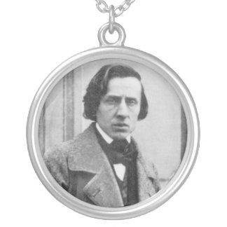 La seule photographie connue de Frederic Chopin Pendentif Rond
