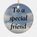 La signification vraie de l'amitié (1 Corinthiens  Ornements De Noël