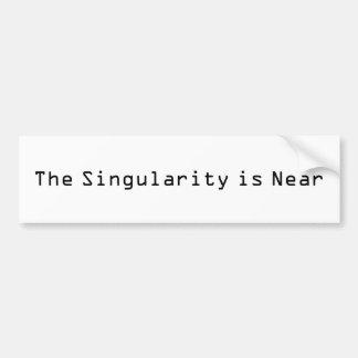 La singularité est près autocollant de voiture
