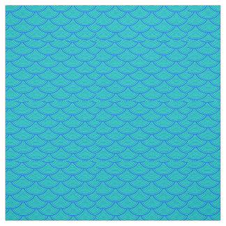 la sirène mesure le bleu/aqua de #2 Thunder_Cove Tissu