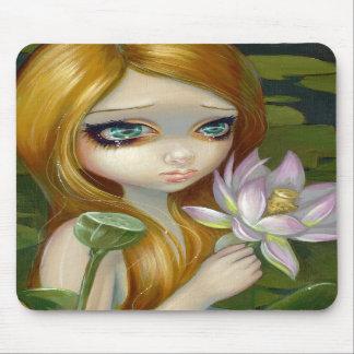 """La """"sirène sélectionnant Lotus fleurit"""" Mousepad Tapis De Souris"""