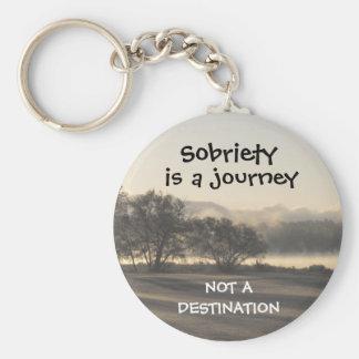 la sobriété est un porte - clé 15 de voyage porte-clés