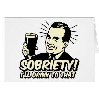 La sobriété I boira à celle Cartes