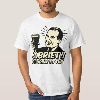 La sobriété I boira à celle T-shirt