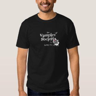 La société de vampire - modes augmentées de t-shirt