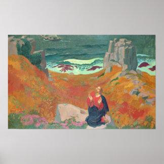 La solitude du Christ, 1918 Posters