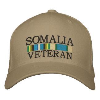 La SOMALIE, casquette de VÉTÉRAN Casquette Brodée