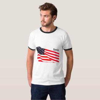 La sonnerie de base des hommes résistent. T-shirt