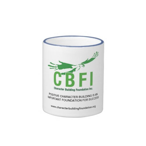 La sonnerie de CBFI attaque (poignée de bleu de po Tasse À Café