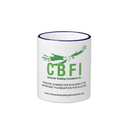 La sonnerie de CBFI attaque (poignée de bleu marin Tasse À Café
