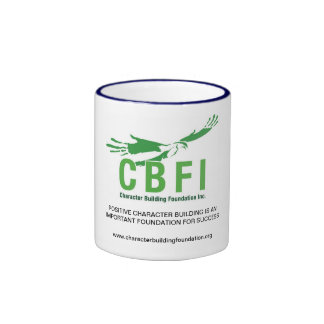 La sonnerie de CBFI attaque (poignée de bleu Mug Ringer
