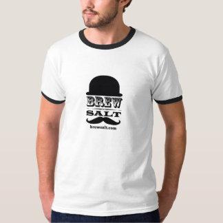 La sonnerie T des hommes de sel de Brew T-shirts