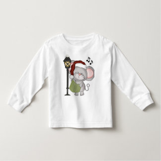 La souris de Noël badine le T-shirt