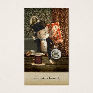 La souris victorienne de tailleur cartes de visite
