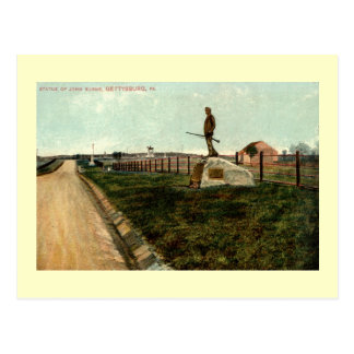 la statue c1915 de John brûle GETTYSBURG Cartes Postales