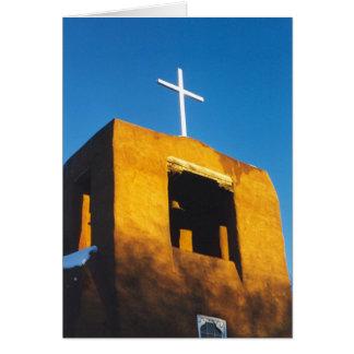 La structure d'église la plus ancienne aux carte de vœux