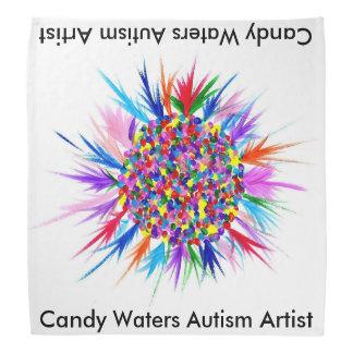 La sucrerie arrose l'artiste d'autisme bandanas