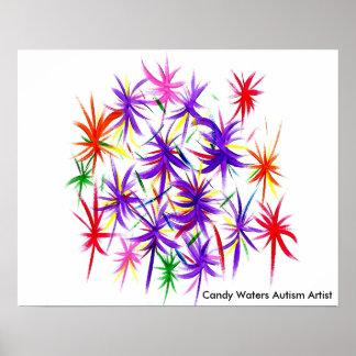 La sucrerie arrose l'artiste d'autisme poster