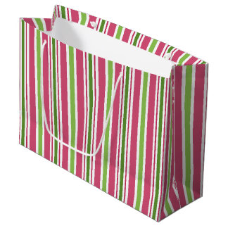 La sucrerie rose de fête barre le sac de cadeau grand sac cadeau