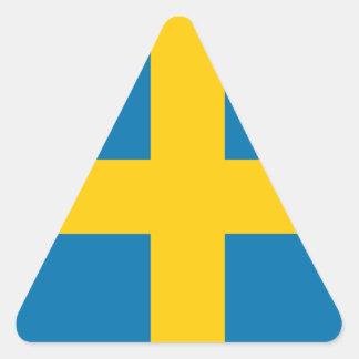 La Suède Sticker Triangulaire