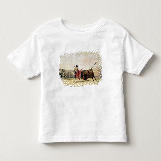 La Suerte de la Capa, 1865 (litho de couleur) T-shirt Pour Les Tous Petits