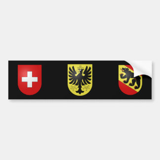 La Suisse - Berne - l'Oberhasli Autocollant De Voiture