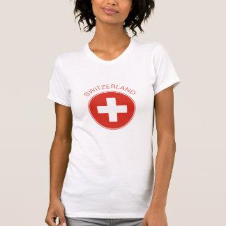La Suisse - le T-shirt des femmes suisses de