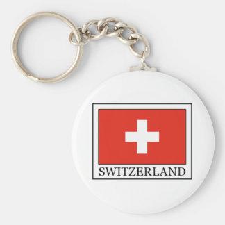 La Suisse Porte-clé Rond