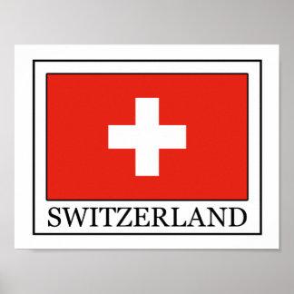 La Suisse Poster