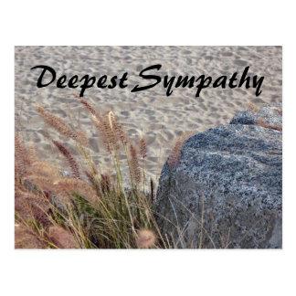 la sympathie la plus profonde de plage cartes postales