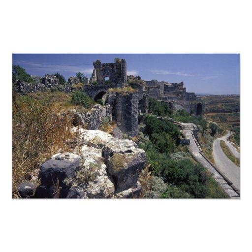 La Syrie, château de Marqab, croisés se retranchen Photo