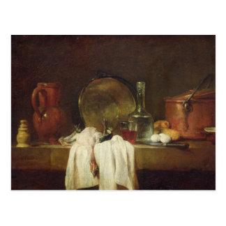 La table de cuisine carte postale