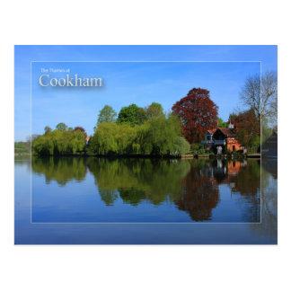 La Tamise à la carte postale de Cookham