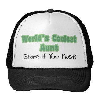 La tante la plus fraîche du monde casquettes de camionneur