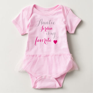 La tante préférée du bébé body