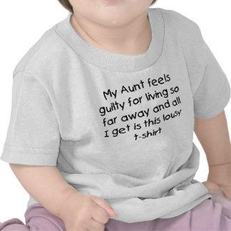 La tante vit loin t-shirt