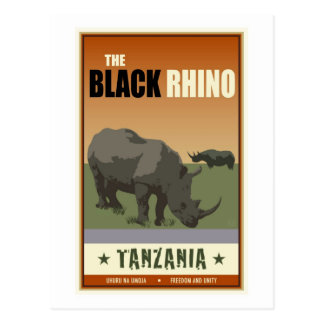 La Tanzanie Carte Postale