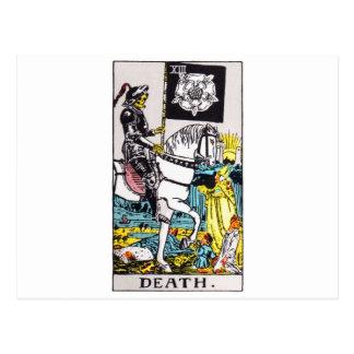 la tarot-mort carte postale