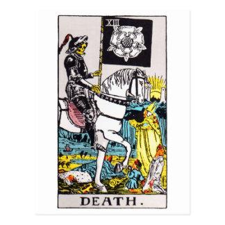 la tarot-mort cartes postales