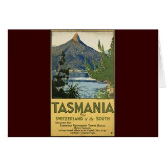 La Tasmanie Carte De Vœux