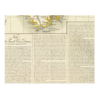 La Tasmanie Océanie aucuns 58 Carte Postale