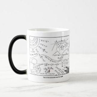 La tasse comme physiciens voient le monde -