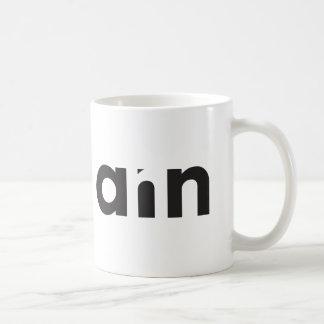 La tasse d'Ann avec la conception typographique