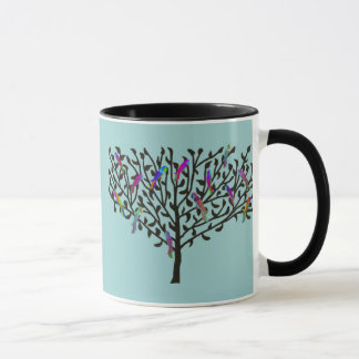 La tasse d'arbre de perroquet