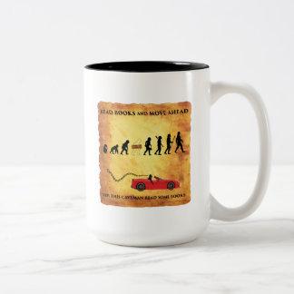 La tasse de café cet homme des cavernes futé