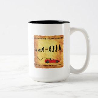 La tasse de café cette les Cavewoman futés indique